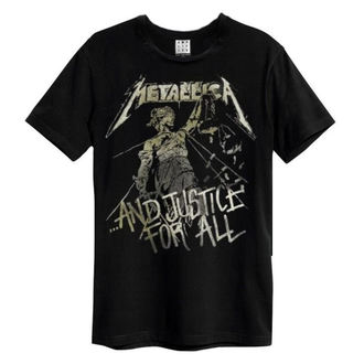 t-shirt metal men's Metallica - And Justice For All - AMPLIFIED, AMPLIFIED, Metallica
