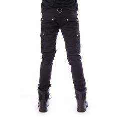 Trousers Men Chemical Black - ANDERS - BLACK, CHEMICAL BLACK