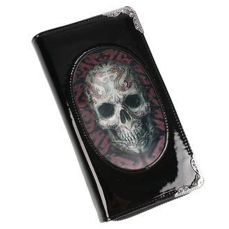 Wallet ANNE STOKES - Oriental Skull - Black, ANNE STOKES