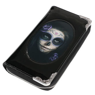Wallet ANNE STOKES - Day Of The Dead - Black, ANNE STOKES