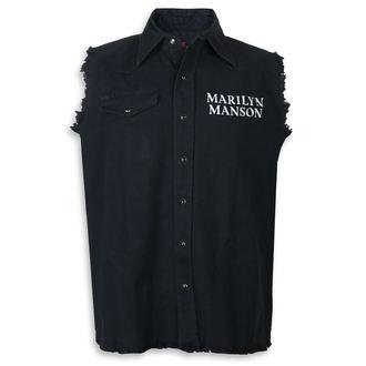 Sleeveless shirt (vest) Marilyn Manson - Cross Logo - RAZAMATAZ, RAZAMATAZ, Marilyn Manson
