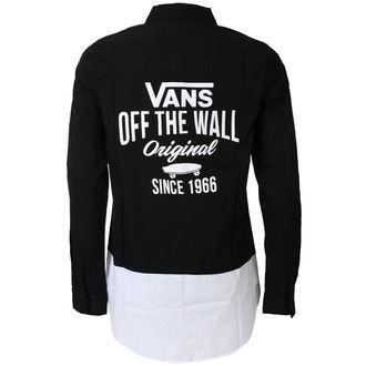 Shirt Women's VANS - SKATE STACK - Black, VANS
