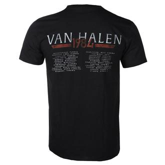 t-shirt metal men's Van Halen - '84 TOUR - PLASTIC HEAD - RTVHA029