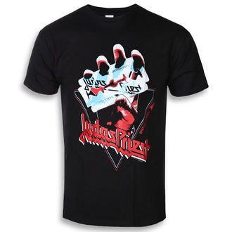 t-shirt metal men's Judas Priest - British Steel Hand Triangle - ROCK OFF, ROCK OFF, Judas Priest
