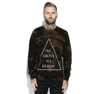 sweatshirt (no hood) men's - As Above - BLACK CRAFT, BLACK CRAFT