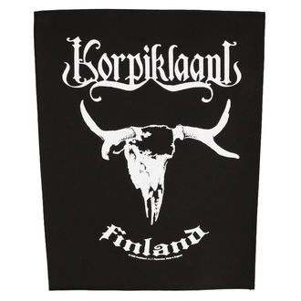 patch large KORPIKLAANI - 'FINLAND - RAZAMATAZ, RAZAMATAZ, Korpiklaani