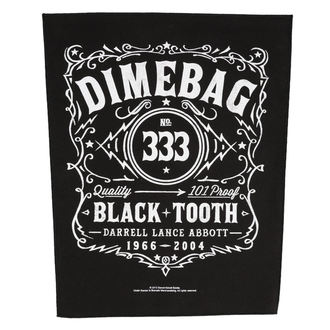 patch large DIMEBAG DARRELL - BLACK TOOTH - RAZAMATAZ, RAZAMATAZ, Dimebag Darrell