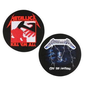 Gramophone Pad (set of 2pcs) METALLICA - KILL EM ALL - RIDE THE LIGHTENING - RAZAMATAZ, RAZAMATAZ, Metallica
