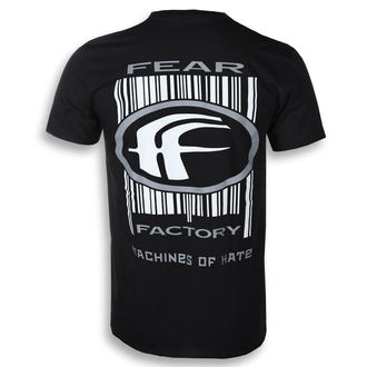 t-shirt metal men's Fear Factory - MACHINES OF HATE - PLASTIC HEAD, PLASTIC HEAD, Fear Factory