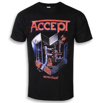 t-shirt metal men's Accept - METAL HEART 1 - PLASTIC HEAD, PLASTIC HEAD, Accept
