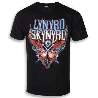 Metal T-Shirt men's Lynyrd Skynyrd - Crossed Guitars - PLASTIC HEAD - RTLS0126