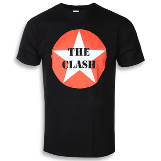 t-shirt metal men's Clash - STAR BADGE - PLASTIC HEAD, PLASTIC HEAD, Clash