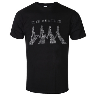 t-shirt metal men's Beatles - Crossing - ROCK OFF - BEATTEE301MB