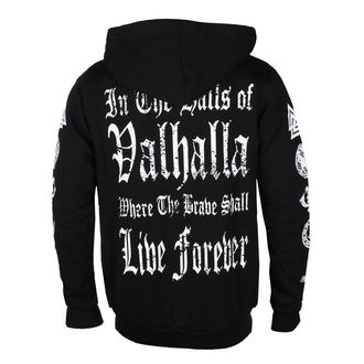 hoodie men's - I AM A WARRIOR - VICTORY OR VALHALLA, VICTORY OR VALHALLA