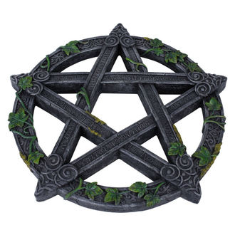 Wall decoration Wiccan Pentagram Wall Plaque, NNM