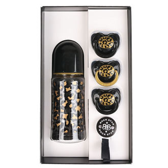Baby gift set  ROCK STAR BABY - GOLD LEOPARD, ROCK STAR BABY
