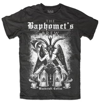t-shirt men's - Baphomet Brew - BLACK CRAFT, BLACK CRAFT