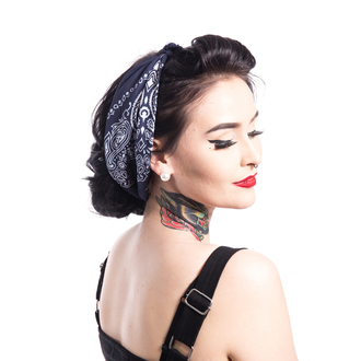 Scarf Rockabella - BAND ONE - BLUE, ROCKABELLA