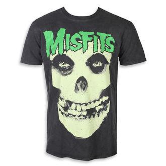 t-shirt metal men's Misfits - LARGE SKULL - PLASTIC HEAD, PLASTIC HEAD, Misfits