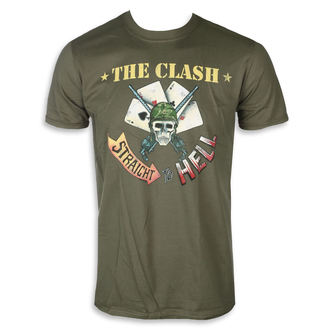 t-shirt metal men's Clash - STRAIGHT ACES - PLASTIC HEAD, PLASTIC HEAD, Clash