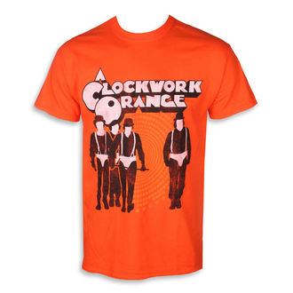 t-shirt men CLOCKWORK ORANGE - POSTER - PLASTIC HEAD, PLASTIC HEAD