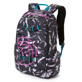 backpack MEATFLY - Basejumper 3 - M Feather Grayscale, MEATFLY