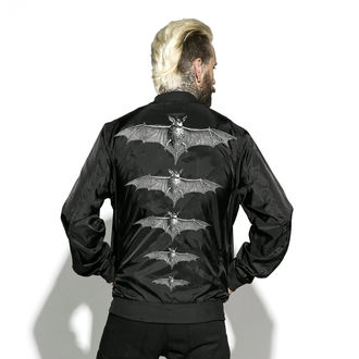 spring/fall jacket unisex - Release The Bats - BLACK CRAFT, BLACK CRAFT