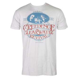 Metal T-Shirt men's Creedence Clearwater Revival - TRAVELIN' BAND - LIQUID BLUE - 61822