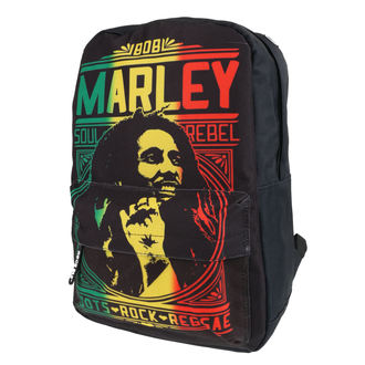 Backpack BOB MARLEY - ROOTS ROCK REGGAE - CLASSIC, Bob Marley