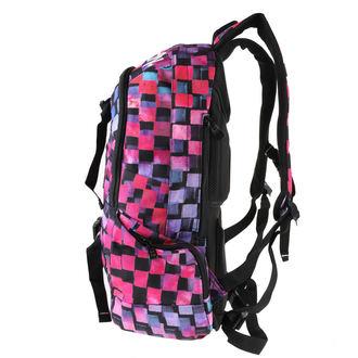 backpack MEATFLY - Basejumper 3 - I Cross Magenta, MEATFLY
