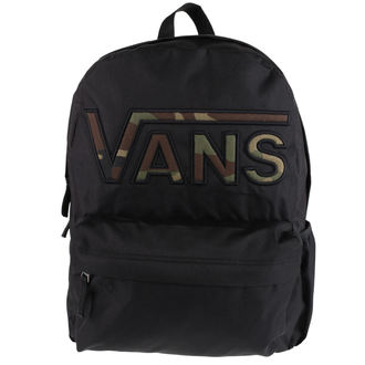 backpack VANS - REALM FLYING V BA - Black / Cam, VANS