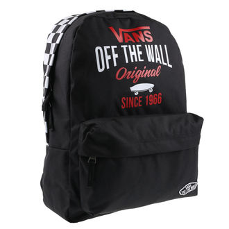 Backpack VANS - SPORTY REALM - BACK / BLACK SKA, VANS