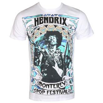 t-shirt metal men's Jimi Hendrix - MONTEREY '67 - BRAVADO, BRAVADO, Jimi Hendrix