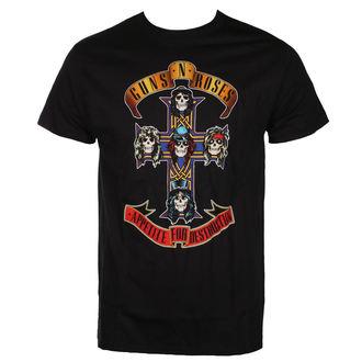 Metal T-Shirt men's Guns N' Roses - CROSS - BRAVADO - 12161112