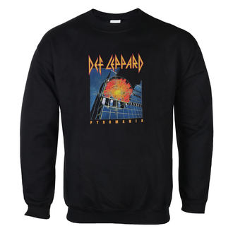 sweatshirt (no hood) men's Def Leppard - Pyromania - LOW FREQUENCY, LOW FREQUENCY, Def Leppard