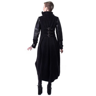 coat women's HEARTLESS - BLACK LIGHT - BLACK, HEARTLESS