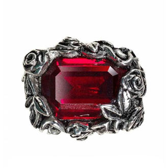 Ring ALCHEMY GOTHIC - Blood Rose, ALCHEMY GOTHIC