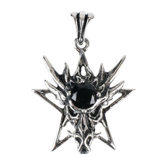 Pendant/ necklace ETNOX - Pentagram Dragon