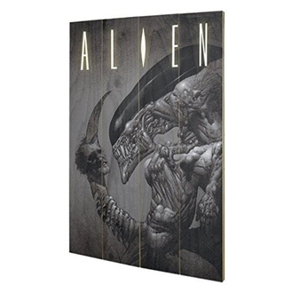 Wooden painting Alien - (Head On Tail) - PYRAMID POSTERS, PYRAMID POSTERS, Alien - Vetřelec