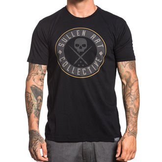 t-shirt hardcore men's - BADGE OF HONOR LEAGUE - SULLEN - SCM1447_BK