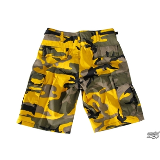 shorts men US BDU - YELLOW-CAM
