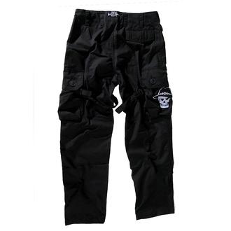 pants men BOOTS & BRACES - Pant Nightmare - Black, BOOTS & BRACES