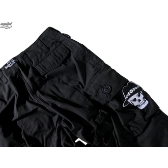 pants men BOOTS & BRACES - Pant Nightmare - Black - 300616