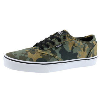 low sneakers men's - MN ATWOOD (CHECK FOX) - VANS, VANS