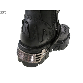boots leather - High Vampire Boot (161-S1) Black - NEW ROCK - M.161-S1