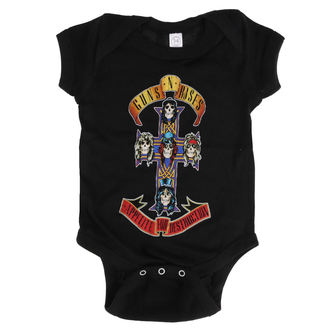 Children's body Guns N' Roses - AFD CROSS ONESIE - BLACK - BRAVADO, BRAVADO, Guns N' Roses