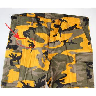 Pants Men's US BDU - YELLOW-CAM - DAMAGED, BOOTS & BRACES