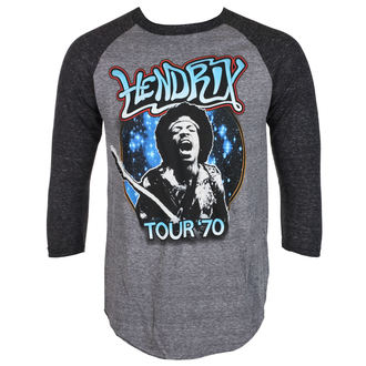 t-shirt metal men's Jimi Hendrix - AUTHENTC 70 TOUR - BRAVADO, BRAVADO, Jimi Hendrix