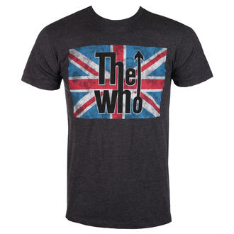 t-shirt metal men's Who - UNION JACK LOGO - BRAVADO, BRAVADO, Who