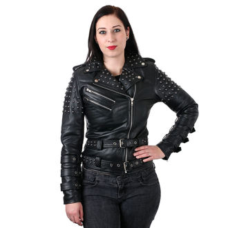 leather jacket women's - Idun - DOCTOR FAUST, DOCTOR FAUST